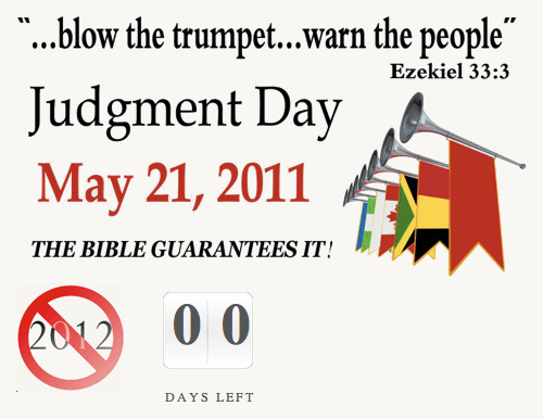 may 21st judgement day. may 21st judgement day wiki.