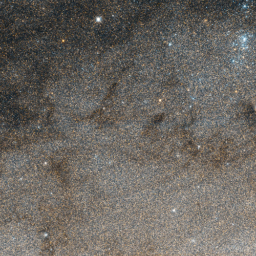 Star Field in M31 Imaged by Hubble WFC3