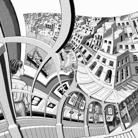 Lenstra and de Smit's version of Escher's Print Gallery